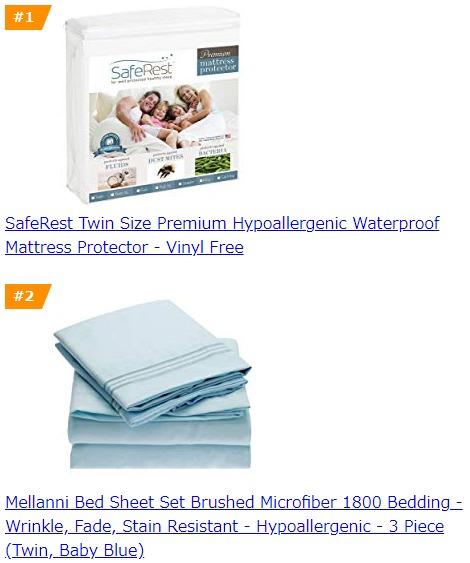 Amazon Bestsellers sample