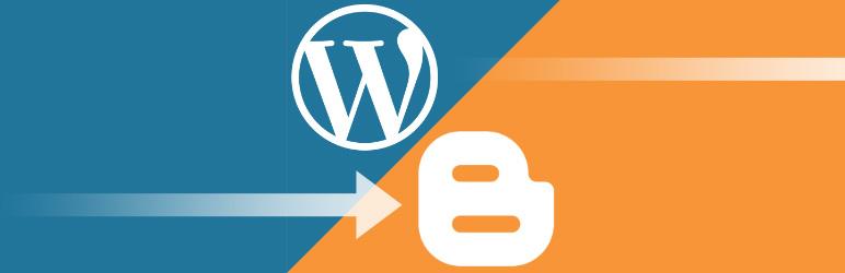 Wordpress plugin Export to Blogger
